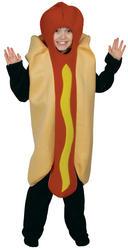 Kid's Hot Dog Costume