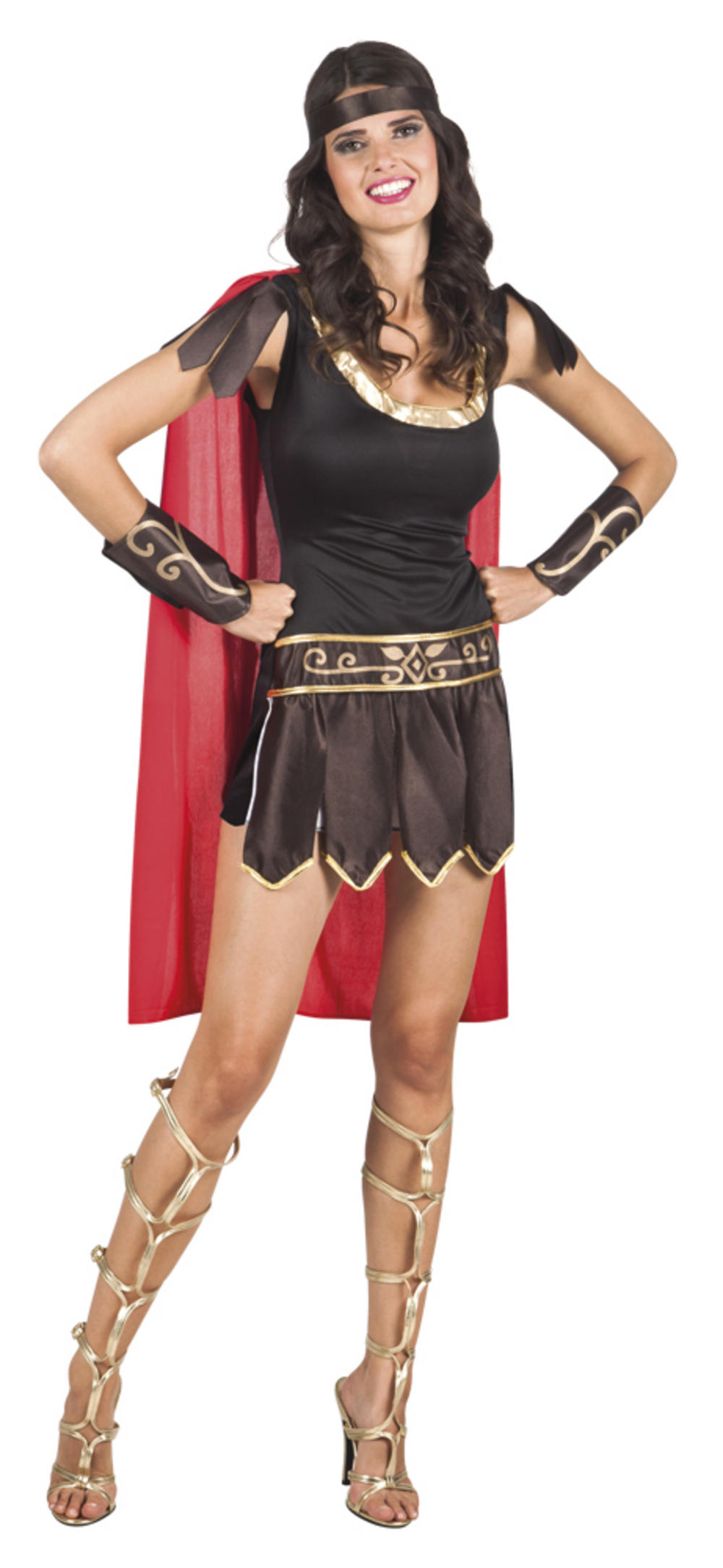 Adults Gladiatrix Costume