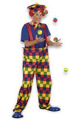 Adults Bonbon Clown Costume