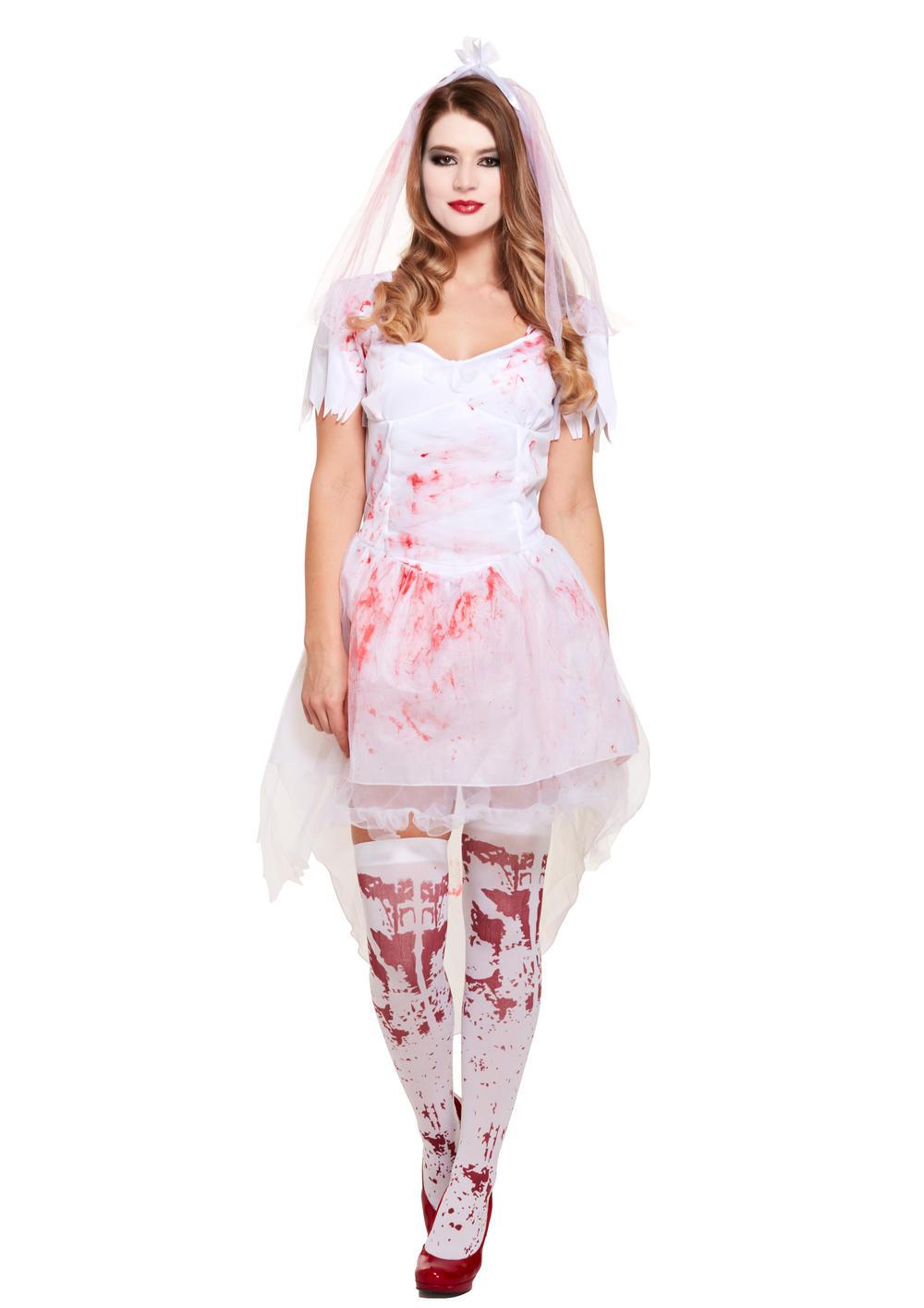 Bloody Bride Ladies Costume
