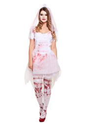 Bloody Bride Ladies Costume