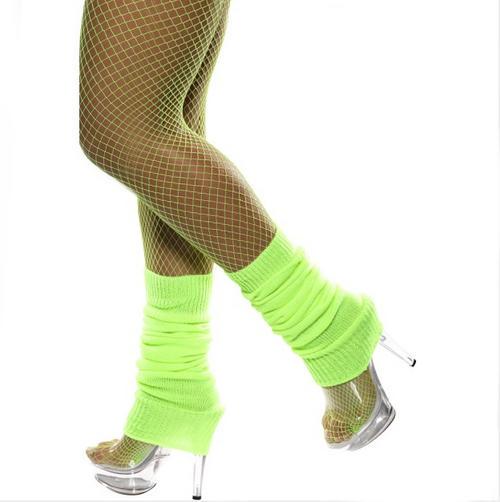 Neon Green Legwarmers