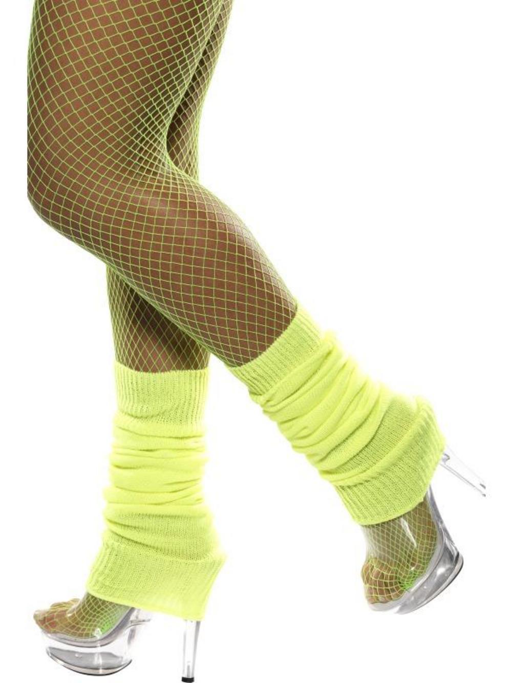 Neon Yellow Legwarmers