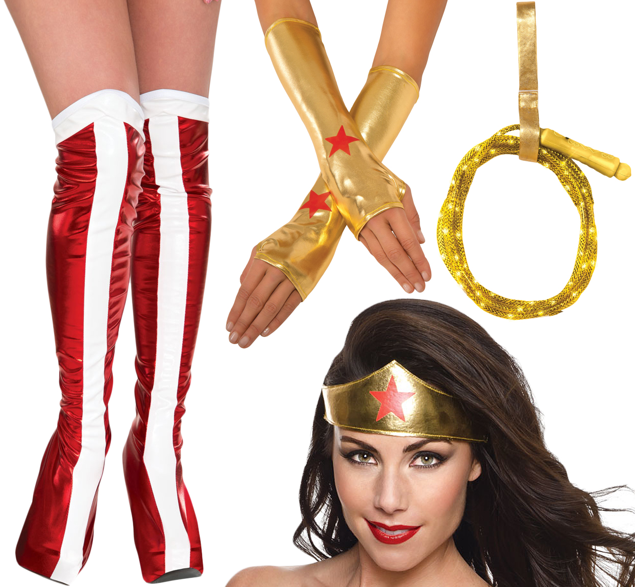Wonder Woman Costume And Accessories
