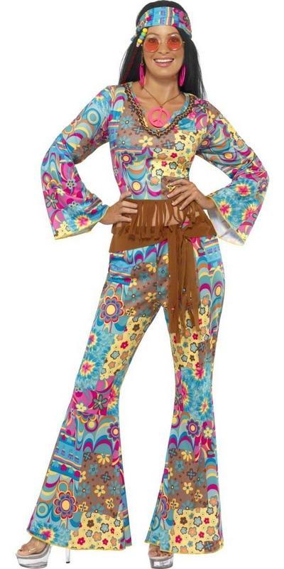 Hippie Flower Power Costume