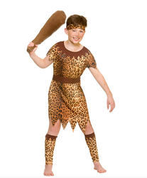 Stone Age Cave Boy Kids Costume