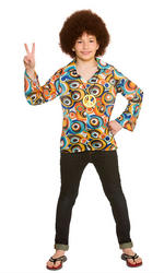 Retro Hippie Shirt Kids Accessory