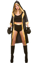 Knockout Boxer Ladies Costume