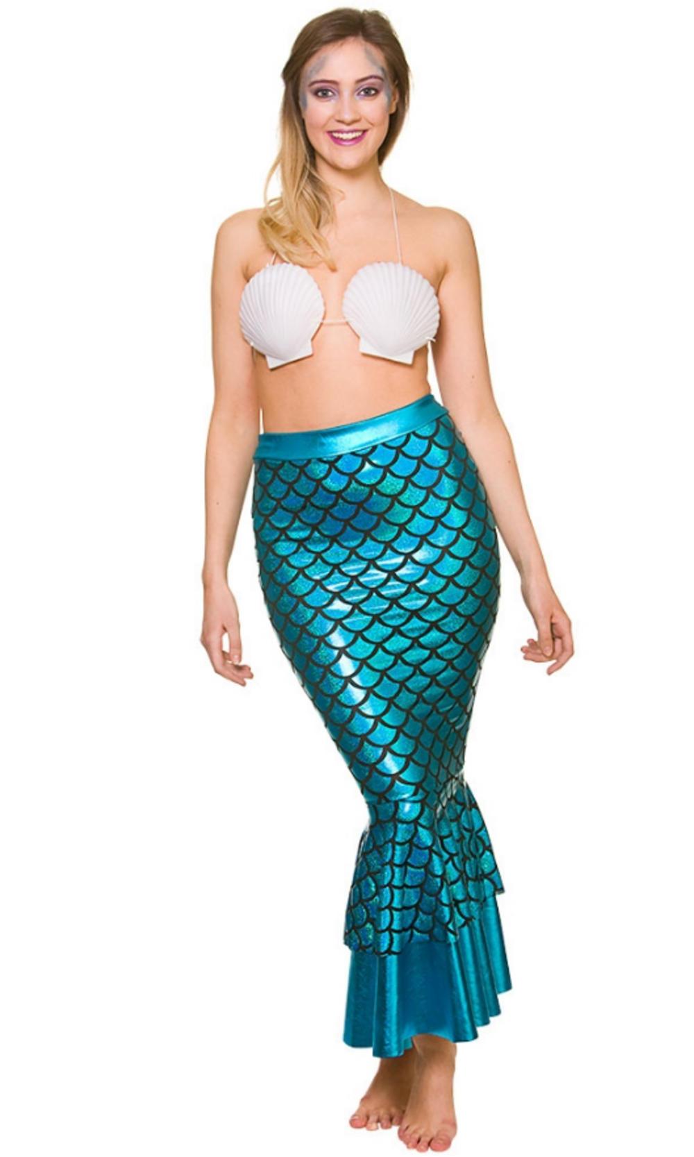 Mermaid Skirt Ladies Accessory | All Ladies Costumes | Mega Fancy Dress