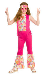 Groovy Hippie Girls Costume