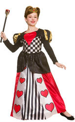 Deluxe Queen of Hearts Kids Costume