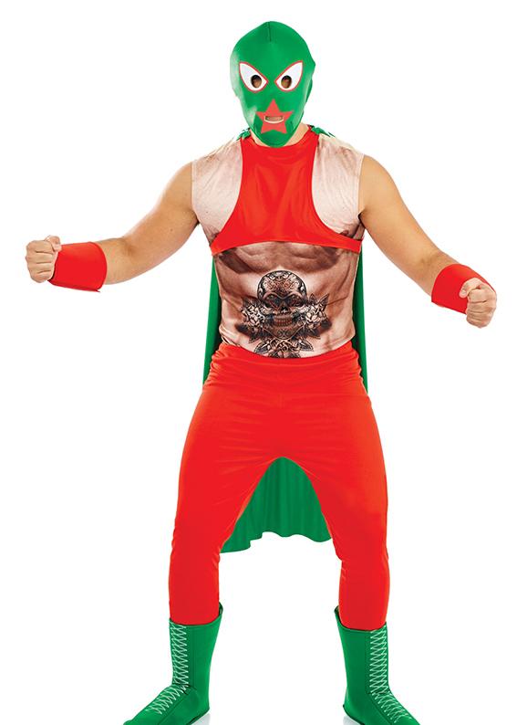 Mexican Wrestler National Dress Mega Fancy Dress