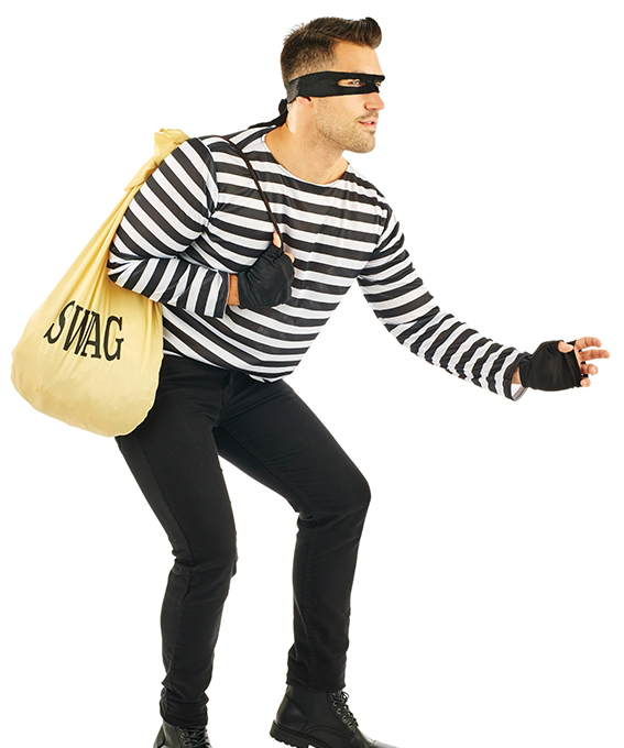 Adults Robber Costume 20s And Gangster Costumes Mega