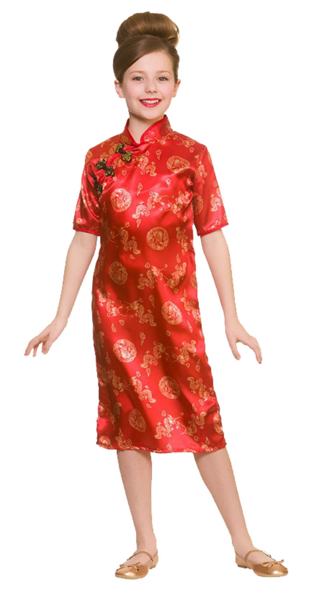 ca8694d9e Chinese Girl Kid's Costume   TV, Book and Film Costumes   Mega Fancy Dress