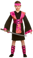 Ninja Assassin Girls Costume