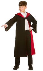 Deluxe Wizard Robe Kids Costume