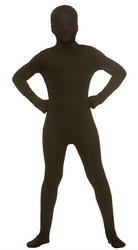 Kidz Skinz Black Kids Costume