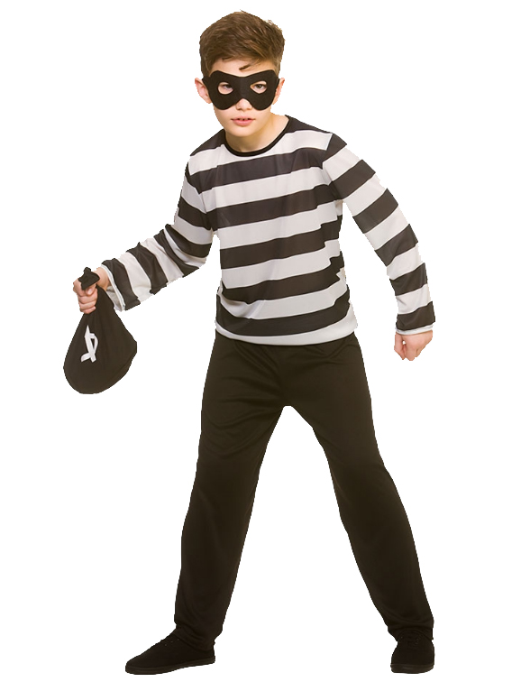Sneaky Robber Kid S Costume Tv Book And Film Costumes
