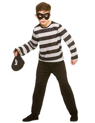 Sneaky Robber Kids Costume