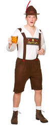 Bavarian Beer Guy Men's Costume
