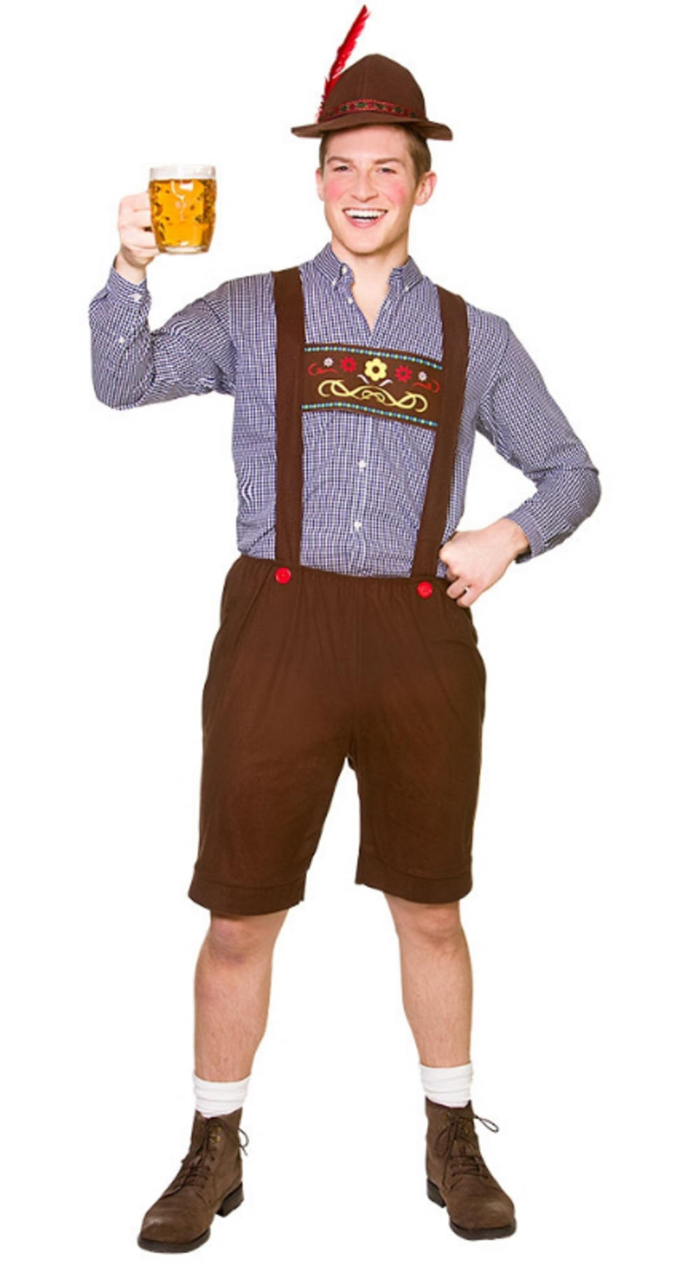 Oktoberfest Set Mens Costume