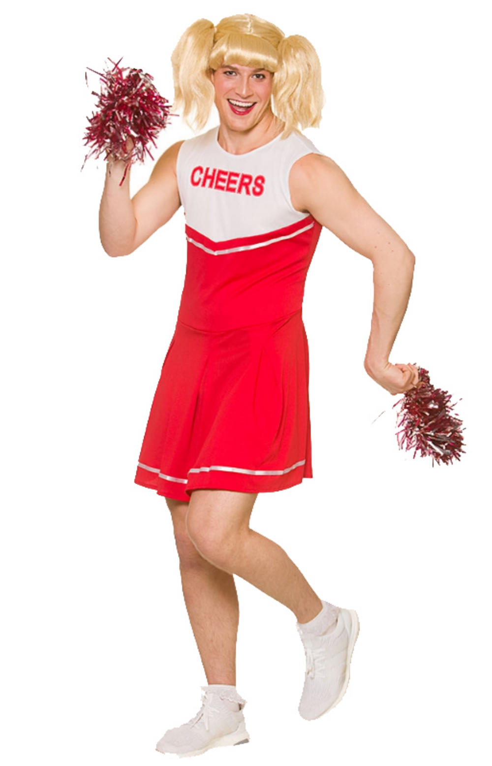 Hot Cheerleader Men's Costume
