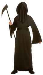 Faceless Reaper Kids Costume