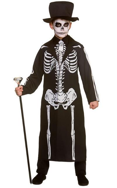 Day of the Dead Skeleton Boys Costume