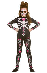 Candy Skull Cutie Girl's Costume