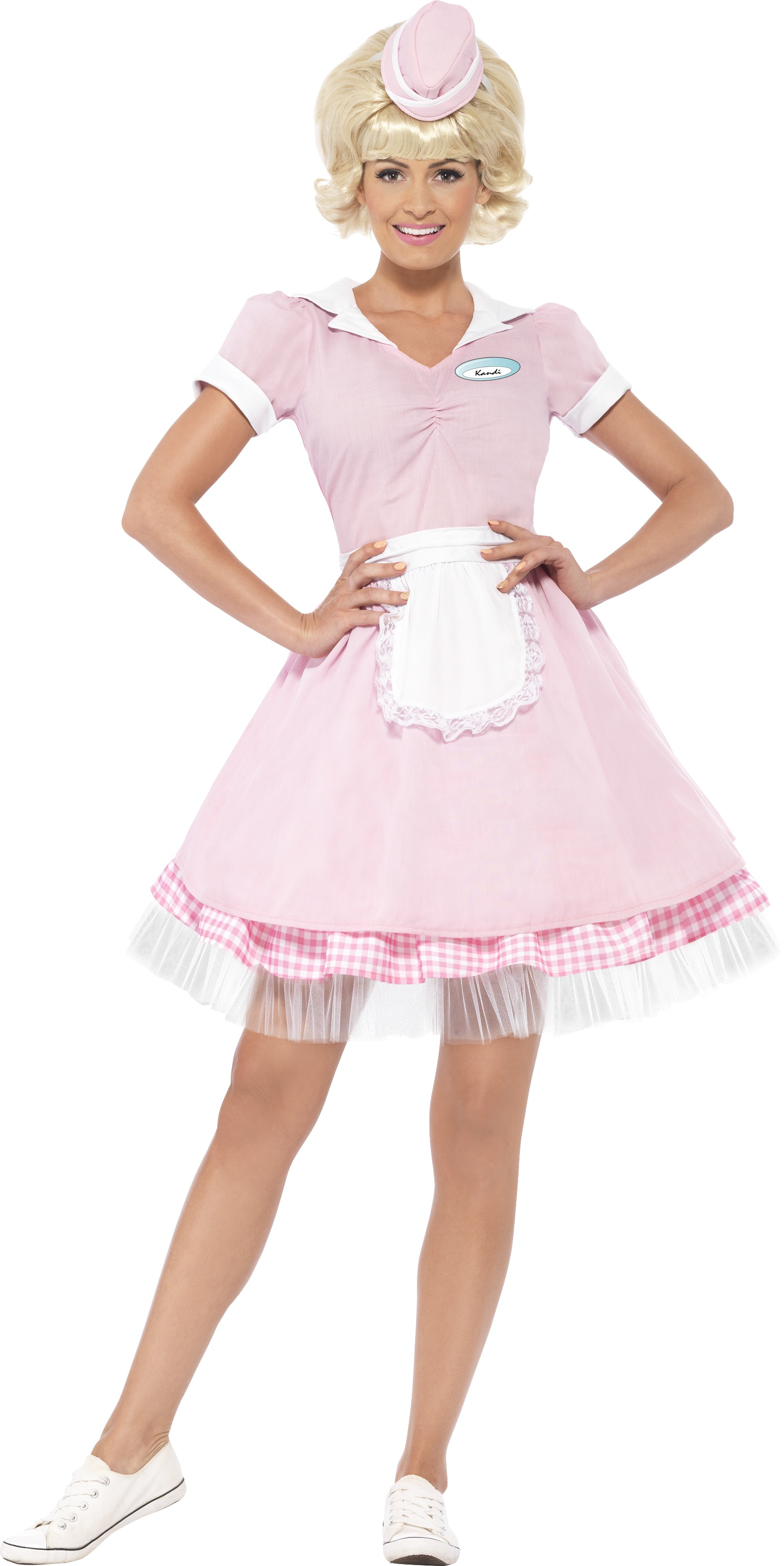 Ladies Teddy Girl Costume 50/'s 50s 1950s Rock Adults Womens Fancy Dress Outfit