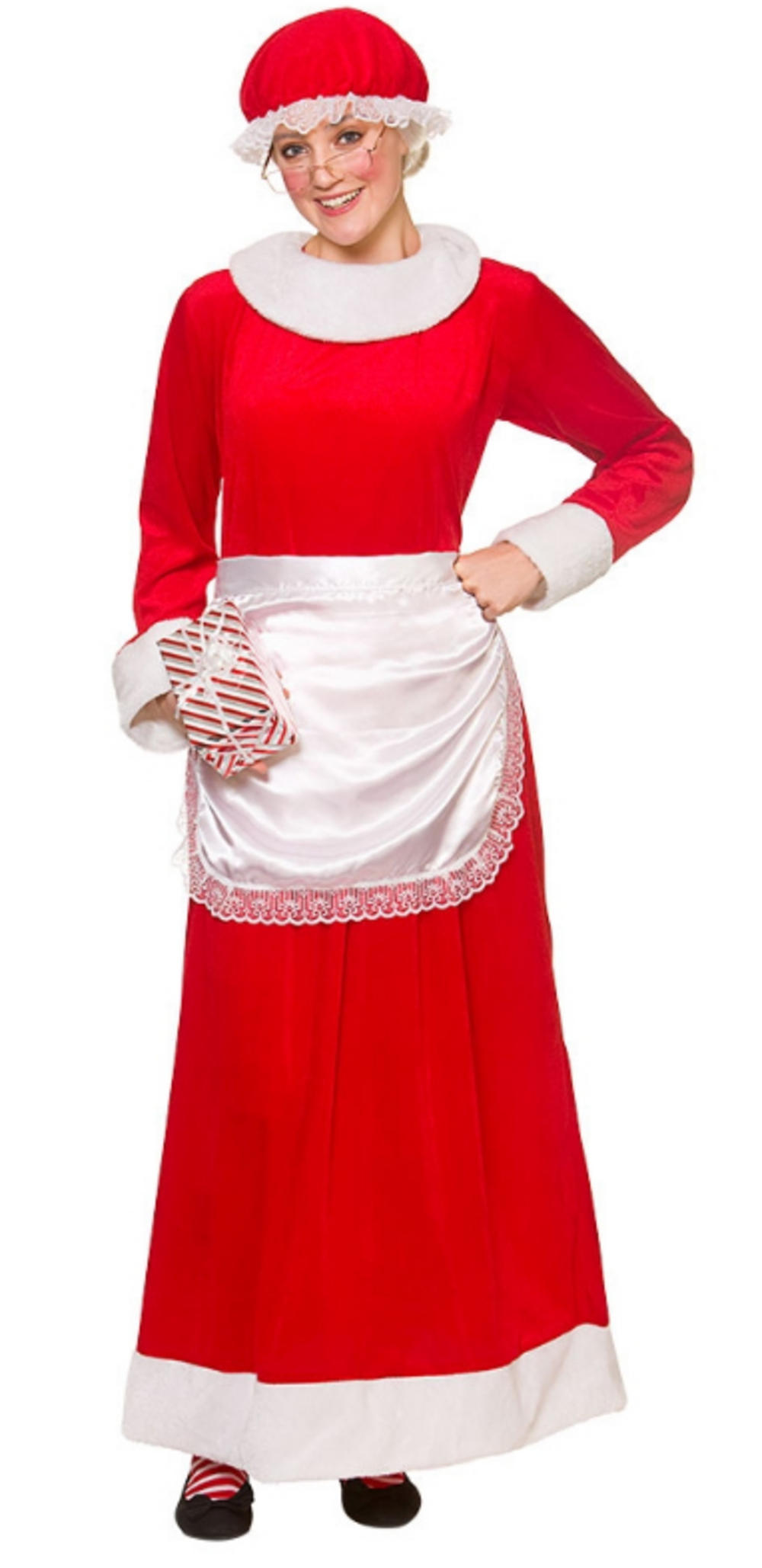 Deluxe Mrs Santa Claus Ladies Costume