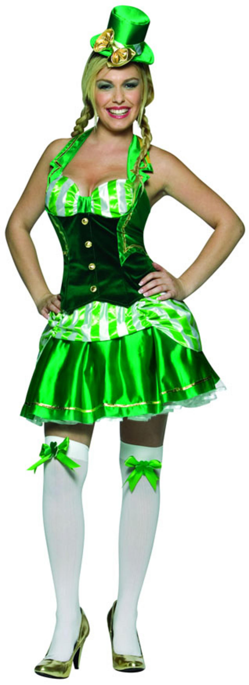Ladies Shamrock Sweetheart Costume