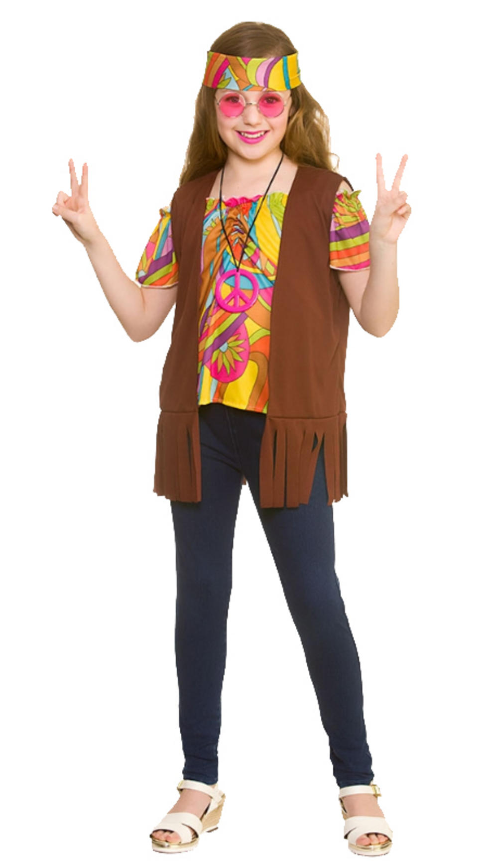 Retro Hippie Girls Costume