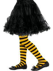 Bee Stripe Tights Childs