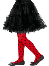 Ladybird Spot Tights Childs