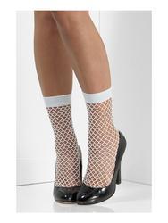 Fishnet Socks White