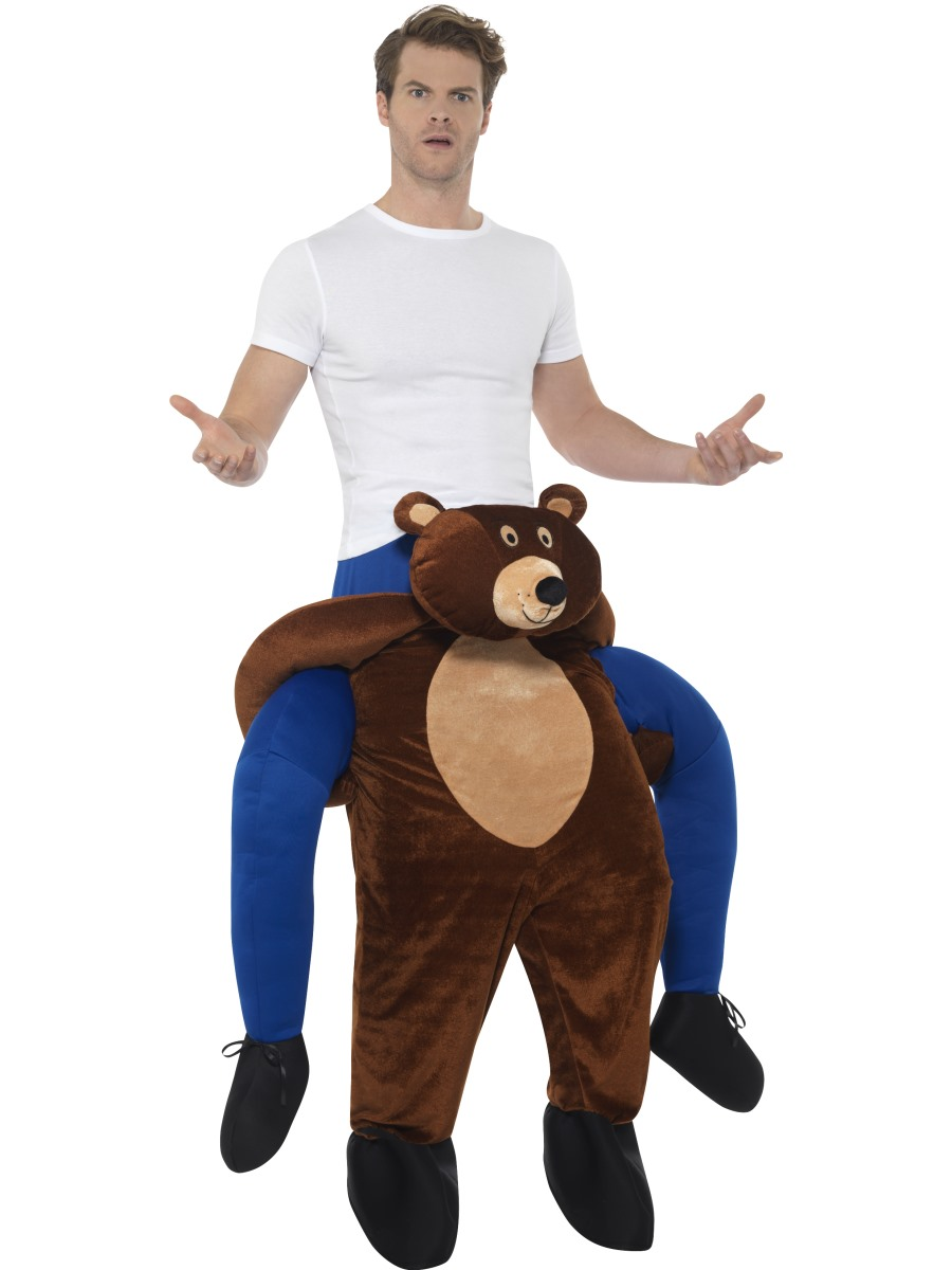 Piggyback Bear Costume Animal Costumes Mega Fancy Dress