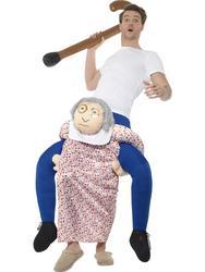 Piggyback Grandma Costume