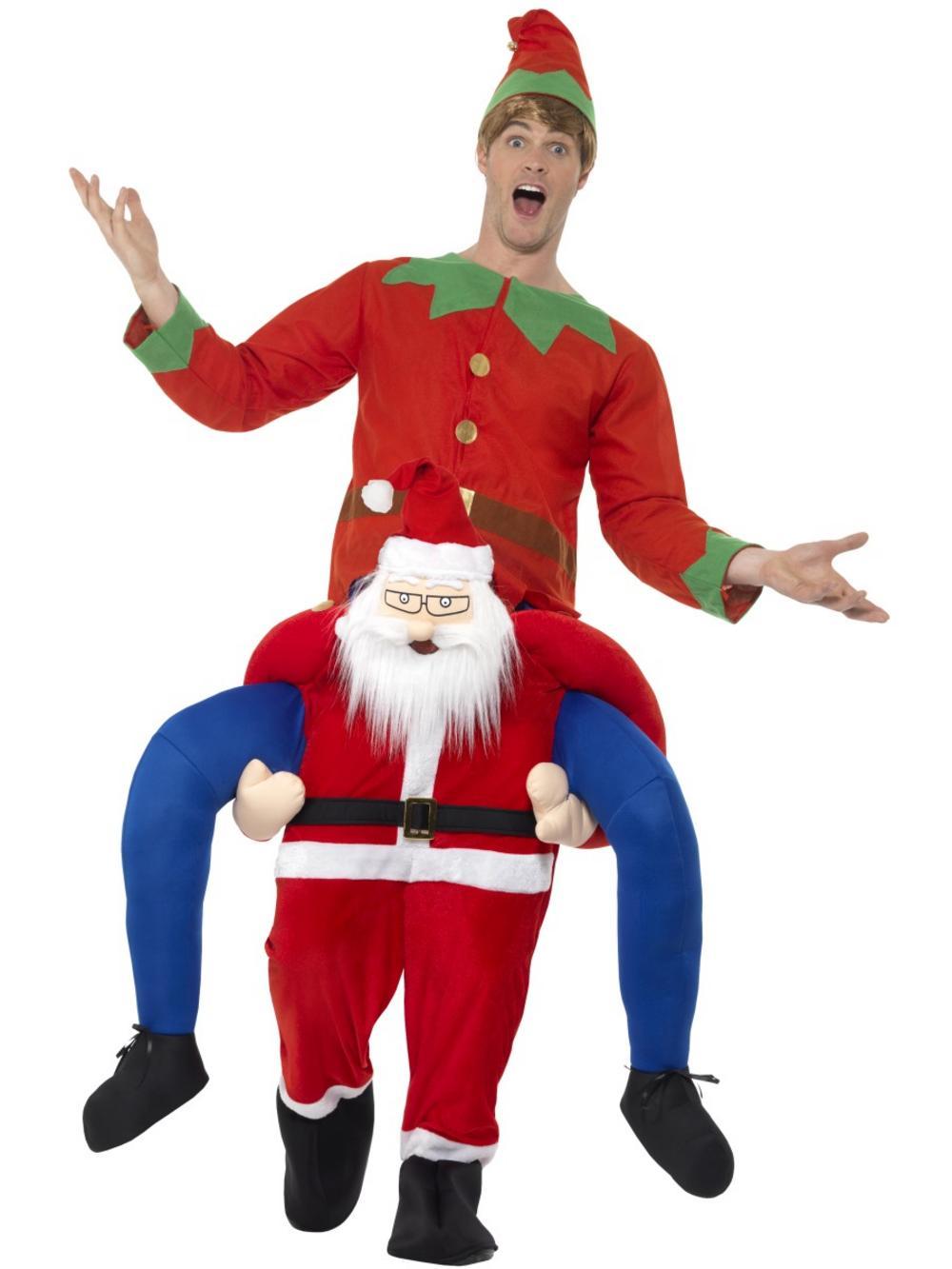 Piggyback Santa Costume
