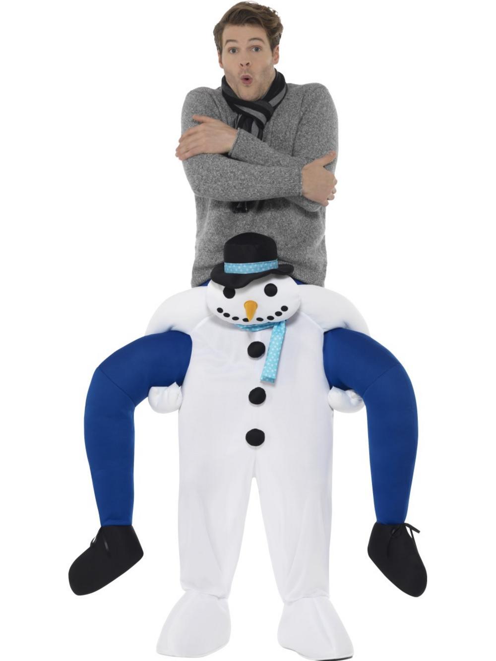Piggyback Snowman Costume