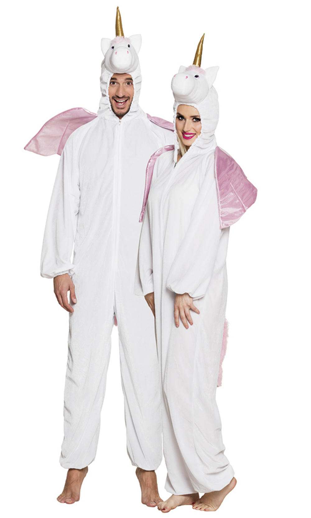 Plush Unicorn Adults Costume