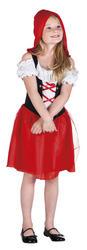 Hooded Rosy Girls Costume