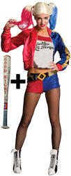 Harley Quinn Ladies Villain Costume