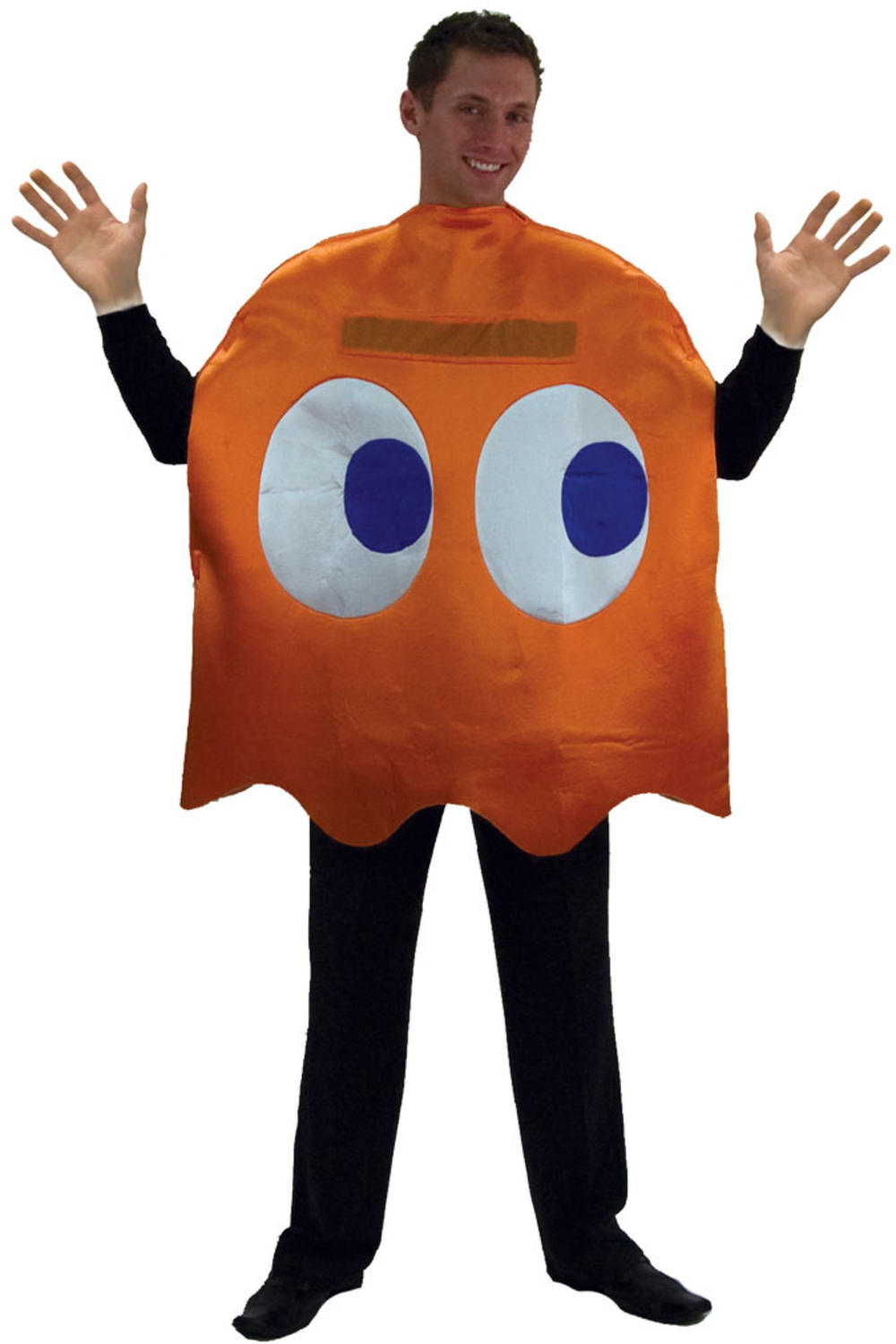 Deluxe Pac-Man Orange Ghost Clyde Costume