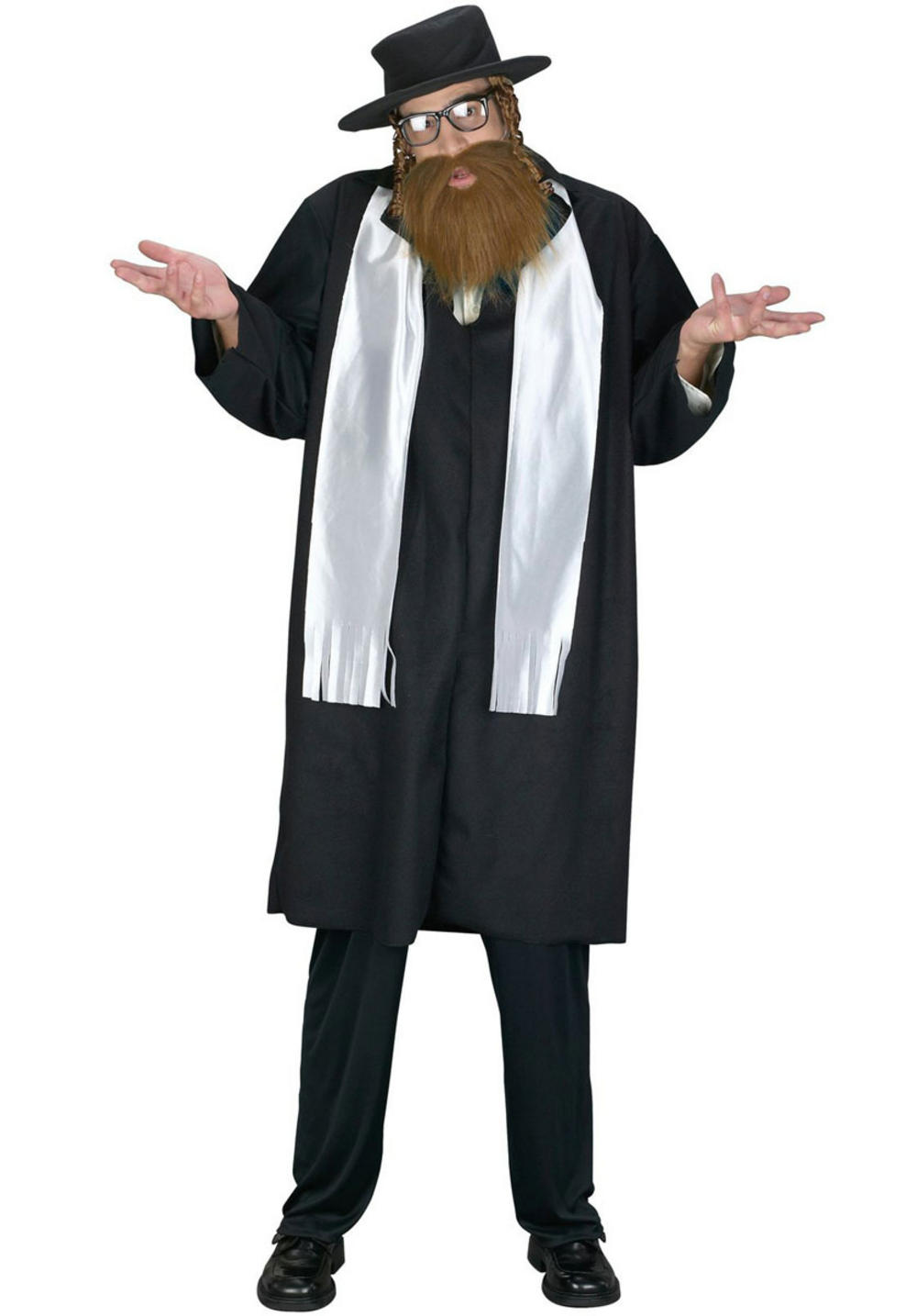 Jewish Rabbi Mens Costume