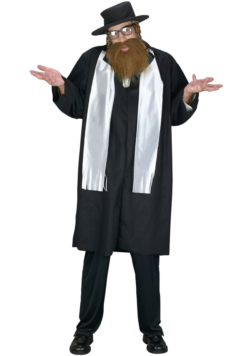 e366a1790 Sentinel Mens Jewish Rabbi Fancy Dress Saints   Sinners Religious Adults Costume  Outfit