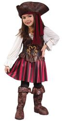 HighSeas Buccaneer Girl Toddler Costume