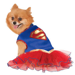 Supergirl Pet Dog Costume