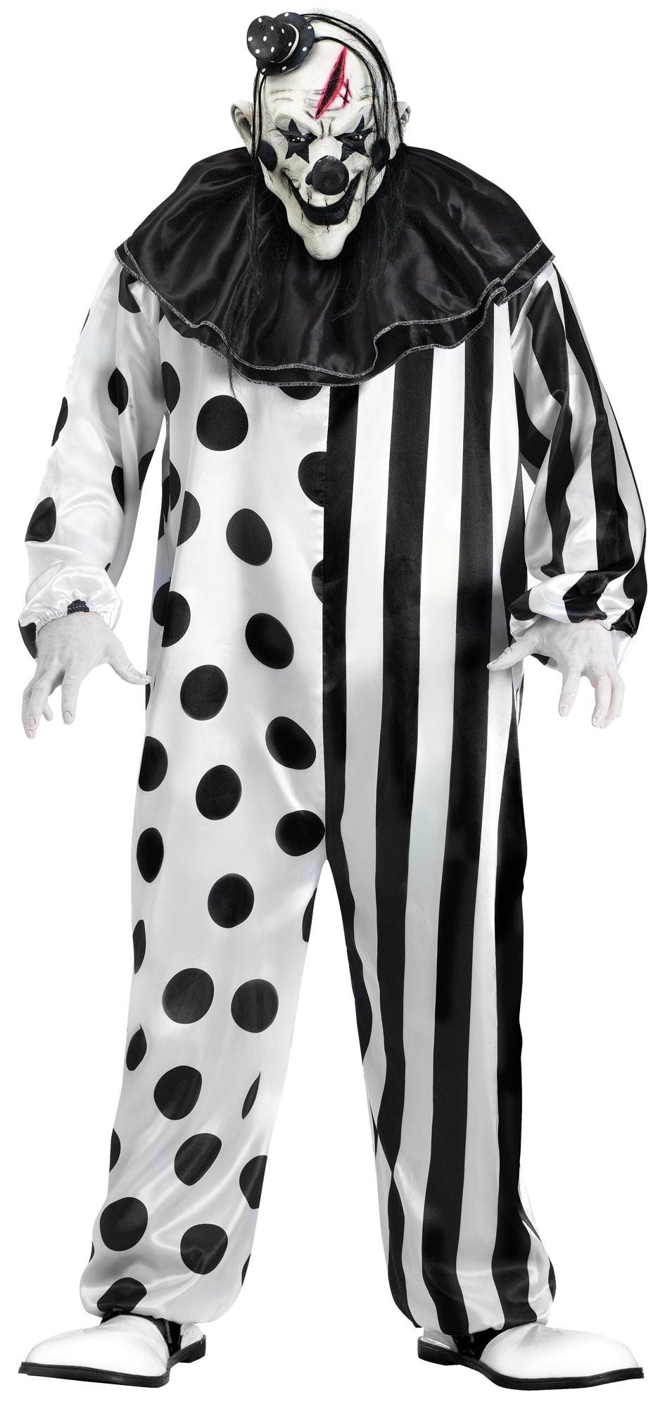 Adults Killer Clown Costume  sc 1 st  Mega Fancy Dress & Adults Killer Clown Costume | Mens Halloween Costumes | Mega Fancy Dress