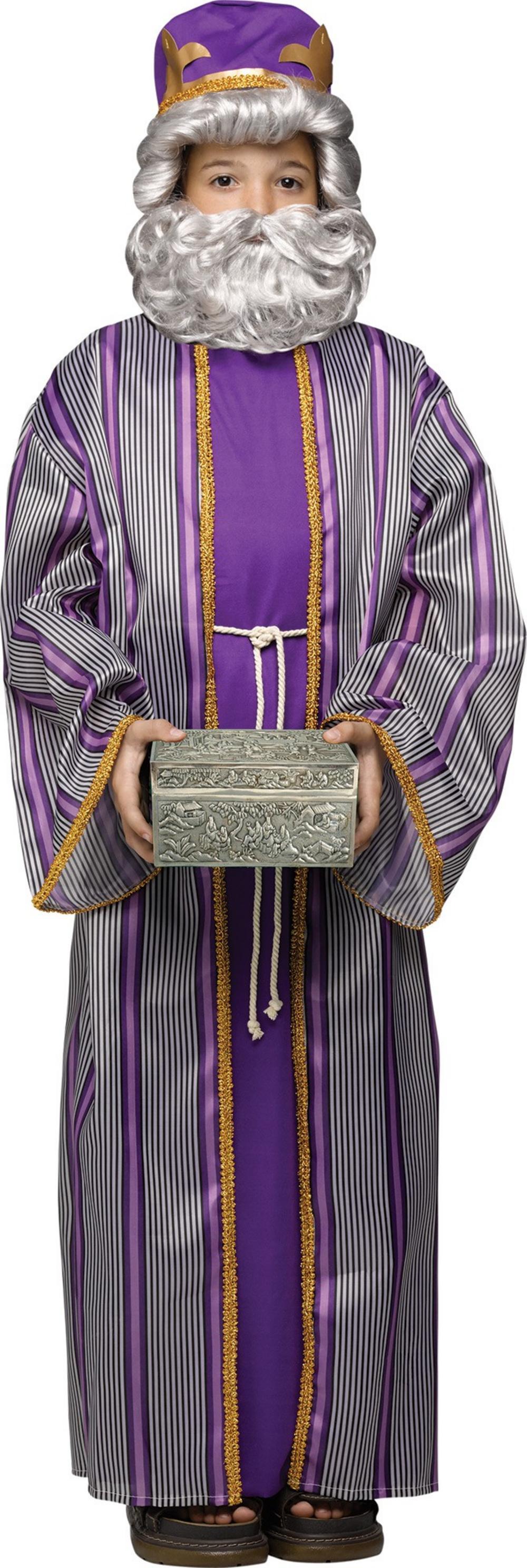 Purple Wise Man Boy's Costume